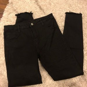 J Galt black skinny jeans